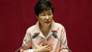 Park Geun-Hye , Presidente  da Coreia do Sul.2016