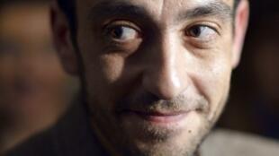 Jérôme Ferrari, autor de la novela « El sermón sobre la caída de Roma » ganador del Premio Goncourt 2012.