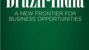 Cartaz oficial da missão empresarial da Câmara de Comércio Índia Brasil.