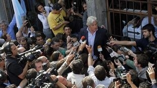 Luis Alberto Lacalle a créé la surprise en obligeant le candidat José Mujica à un second tour lors de la présidentielle, le 26 octobre 2009.
