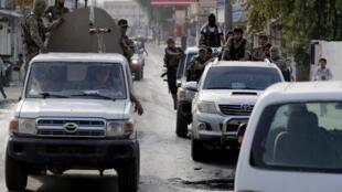 Supplétifs syriens des troupes turques dans la ville frontalière syrienne de Tal Abyad, le 15 octobre 2019 (image d'illustration).