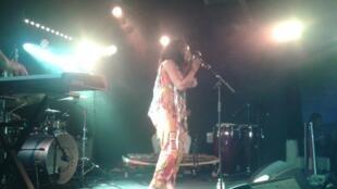 Selma Uamasse no Backstage by the Mill, a 20 de Outubro de 2017