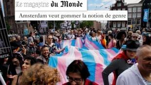 Reportagem da revista semanal M do jornal Le Monde destaca a política contra discriminação de pessoas trans na Holanda.