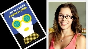 "Sabrina Debusquat autora do livro ""J'arrête la pilule"", lançado em setembro."