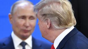 Путин и Трамп встретились в Осаке 28 июня 2019