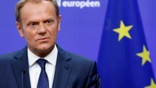 歐盟理事會主席圖斯克