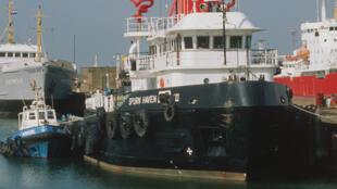 Port de Grimsby.