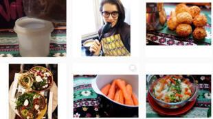 A jornalista brasileira Luana Ferrari compartilha suas receitas saudáveis no Instagram.