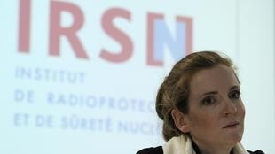 Ecology, Transport and Housing Minister Nathalie Kosciusko-Morizet at the Institute for Radioprotection and Nuclear Safety