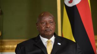 Rais wa Uganda Yoweri Kaghuta Museveni