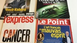 Capas dos semanários franceses de 16 de julho de 2016