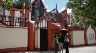L'ambassade d'Espagne à La Paz en Bolivie, le 30 décembre 2019.