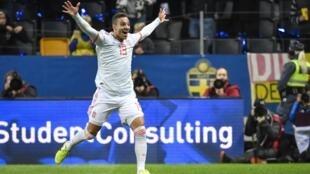 Rodrigo Moreno snatched a late leveller for Spain against Sweden.