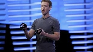 Facebook boss Mark Zuckerberg - French campaigners say the platform deletes nudity but not hate messages