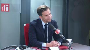 Gaspard Gantzer sur RFI le 10 février 2020.