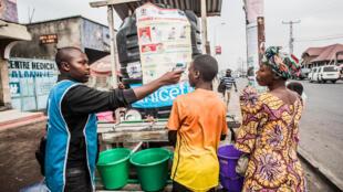 An sake samun tum na 3 dauke da kwayar annobar Ebola a Goma, 31 yuli 2019.