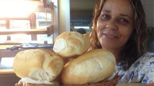 A brasileira Paula Taha, que tem um restaurante em Maputo.