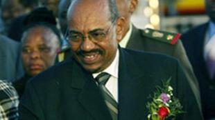 Rais wa Sudan Omar al-Bashir.