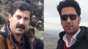سیروان قربانی، فعال محیط زیست و مختار اسدی، فعال صنفی معلمان