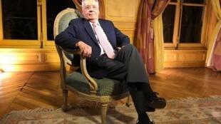 O ex-presidente do Brasil, Fernando Henrique Cardoso, em Paris
