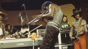 Miles Davis, Festival de Jazz de Montreux, le 8 juillet 1973.