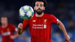 Dan wasan kasar Masar Mohamed Salah da ke taka leda a Liverpool.