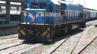 Circulação de comboios no sul de Moçambique