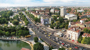 Tsarigradsko shose, partie sud de la ville de Sofia en Bulgarie.