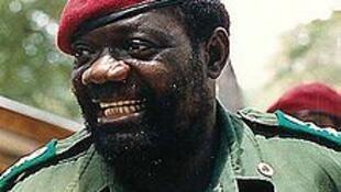 Jonas Savimbi en 1989.