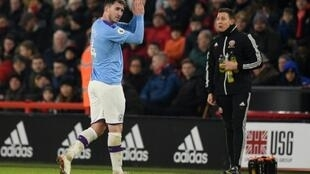 Manchester City defender Aymeric Laporte is back in action after missing a large chunk of the season