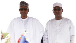 Muhammadu Buhari and Idriss Deby