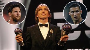 Modric ends Ronaldo Messi Dominance after winning 2018 Ballon d'Or