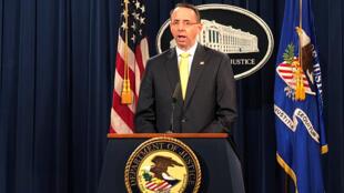 Secretário-adjunto da Justiça americana, Rod Rosenstein, acusa de 13 russos de interferência nas eleições de 2016, nos Estados Unidos