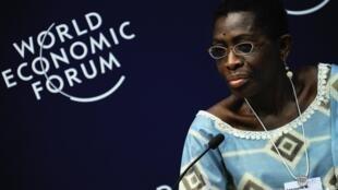 Antoinette Sayeh, ici au Forum économique mondial en 2011.