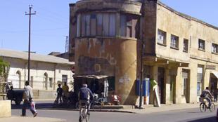 L'UE s'interroge sur les financements qu'elles versent à l'Etat erythréen (ici une rue d'Asmara)