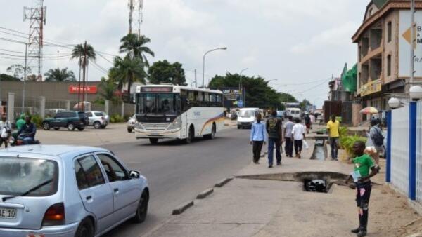 Une rue de Kinshasa (image d'illustration).