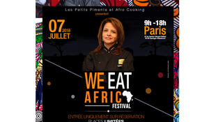 Affiche officielle We eat Africa.