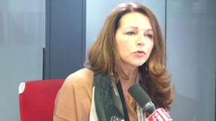 Valérie Boyer, députée LR des Bouches-du-Rhône dans les studios de RFI le 5 février 2020.
