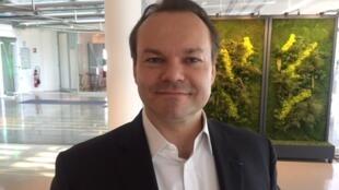 O advogado e ex-candidato às eleições legislativas, Charles-Henry Chenut.