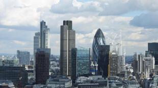 La City à Londres, Royaume-Uni.