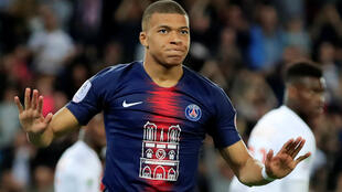 Kylian Mbappé injured his hamstring during PSG's 4-0 win over Toulouse.