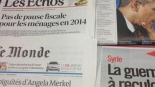 Diários franceses 09/09/2013