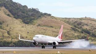Um avião da companhia aérea australiana Qantas foi obrigado a retornar por causa de um vazamento. Na foto, uma outra aeronave da empresa.