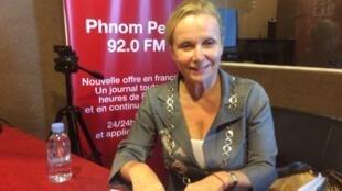 លោកស្រី Anne Lemaistre (អាន់ ឡឺម៉េស់) ប្រធានអង្គការយូណាស្កូប្រចាំនៅកម្ពុជា