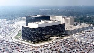 The headquarters of the NSA at Fort Meade, Maryland