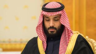 Le prince héritier Mohammed ben Salman, nouvel homme fort de l'Arabie saoudite, le 5 décembre 2017, à Riyad.