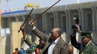 Sudan's President Omar al-Bashir in Damazin, January, 2013