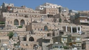 The old town of Mardin in Turkey