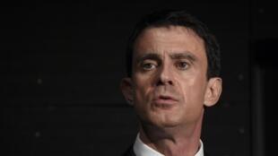 French Prime Minsiter Manuel Valls