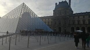 The Louvre has reopened to visitors after striking workers blocked the entrances on Friday 17 January 2020.